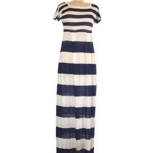 NWT MaxMara Weekend Hateley Striped Maxi Dress